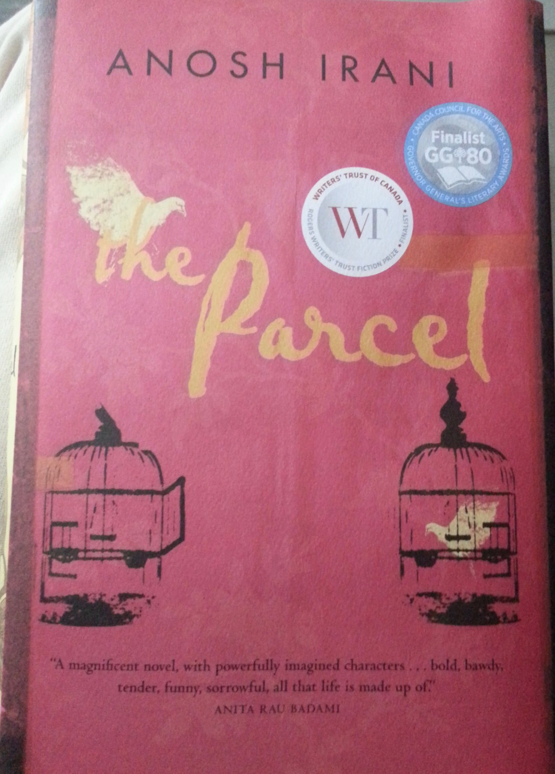Anosh Irani's — The Parcel