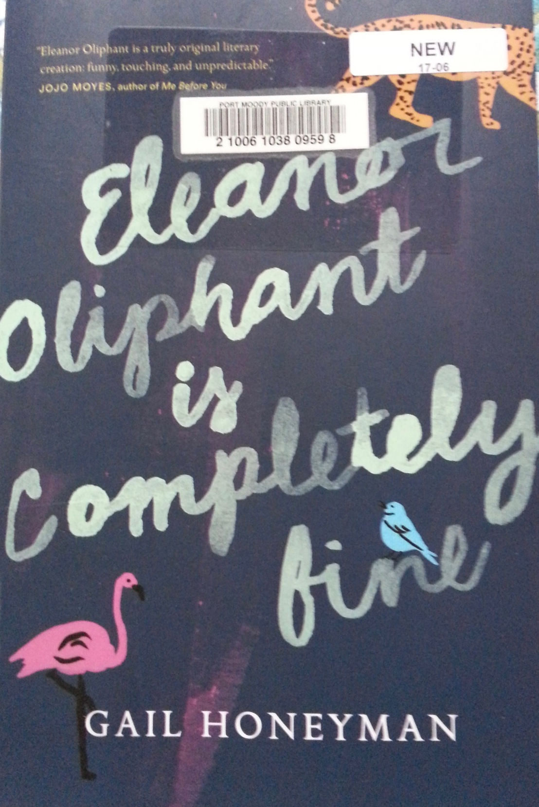 Gail Honeyman's — Eleanor Elephant is completely fine *****