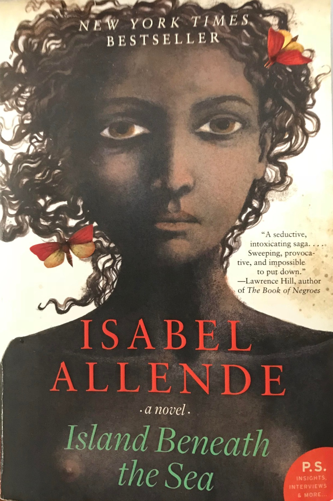 Isabel Allende's — Island beneath the sea *****