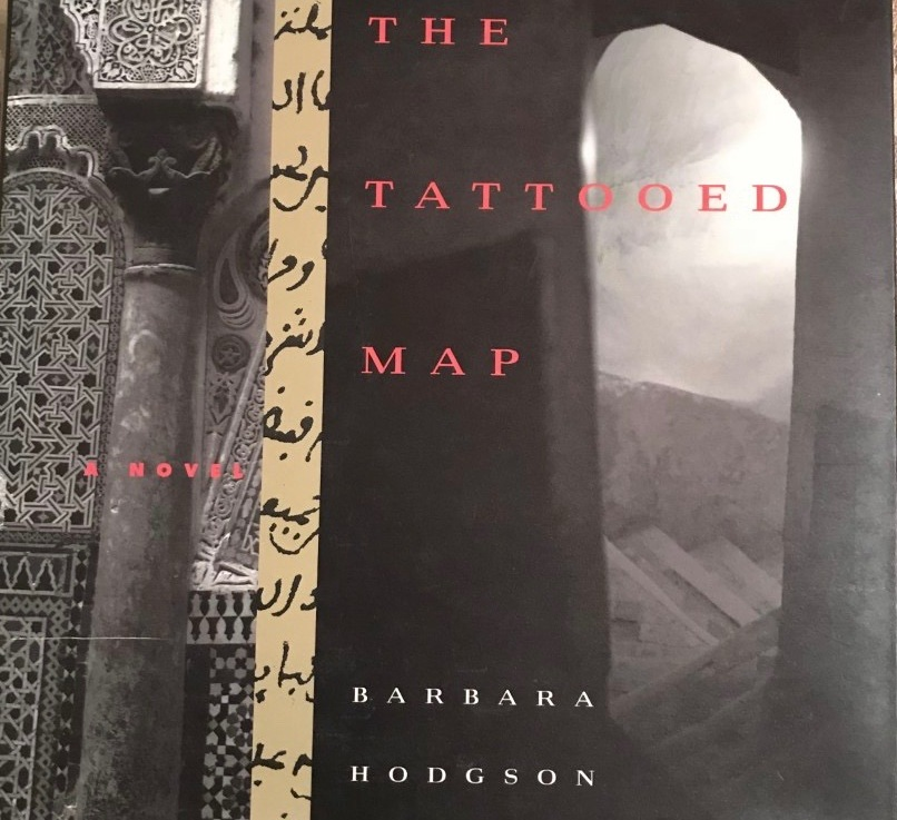 Babara Hodgson's — The tattooed map *****