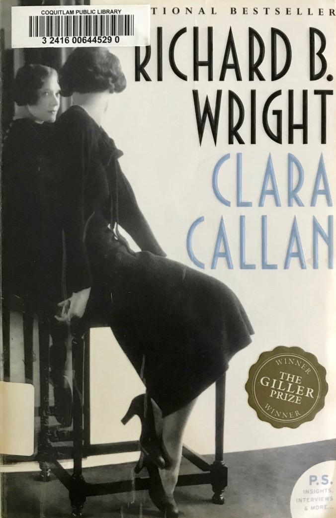 Richard B. Wright's — ClaraCallan