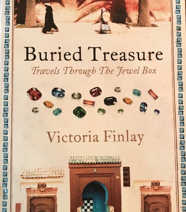 Victoria Finlay's — Buried treasure, travels through the jewel box *****