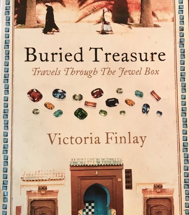 Victoria Finlay's — Buried treasure, travels through the jewel box*****