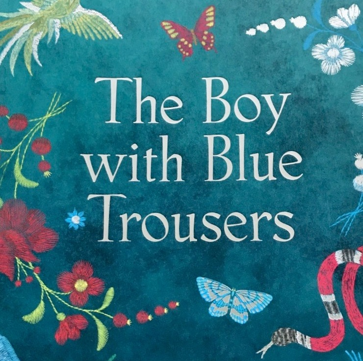 Carol Jones' — The boy with blue trousers *****