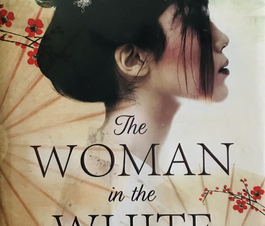 Ana Johns' — The woman in the white kimono *****